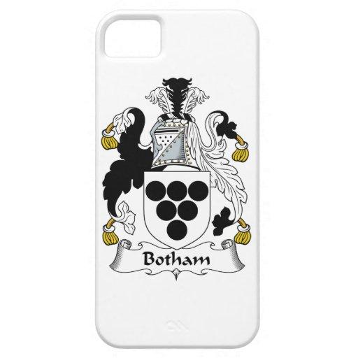 Escudo de la familia de Botham iPhone 5 Funda