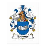 Escudo de la familia de Bothmer Tarjetas Postales