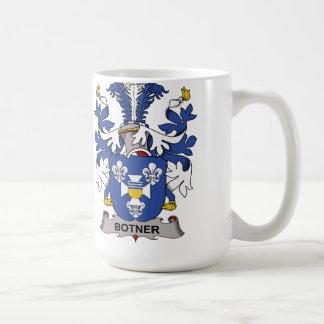 Escudo de la familia de Botner Taza De Café