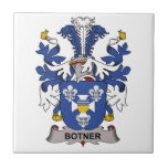 Escudo de la familia de Botner Tejas