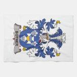 Escudo de la familia de Botner Toalla De Mano