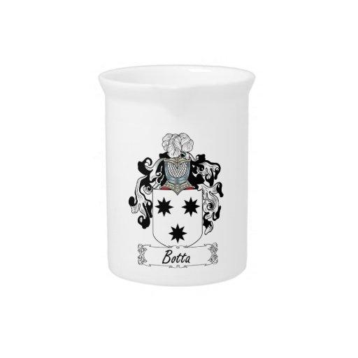 Escudo de la familia de Botta Jarras Para Bebida