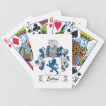 Escudo de la familia de Bottoni Baraja Cartas De Poker