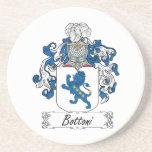 Escudo de la familia de Bottoni Posavaso Para Bebida