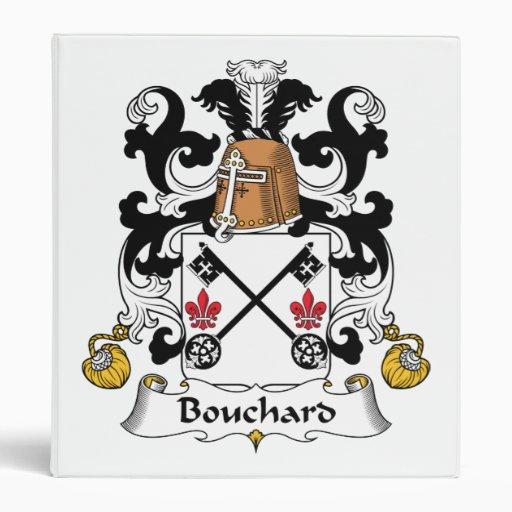 """Escudo de la familia de Bouchard Carpeta 1"""""""