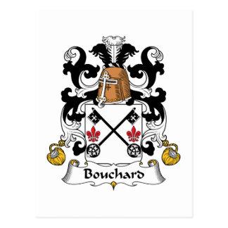 Escudo de la familia de Bouchard Postales