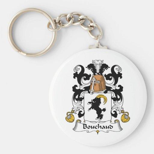 Escudo de la familia de Bouchaud Llavero