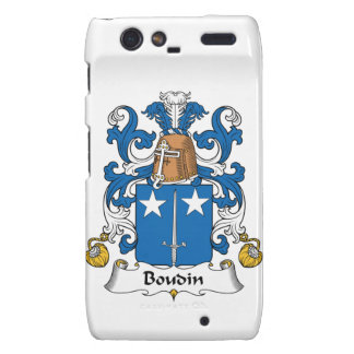 Escudo de la familia de Boudin Droid RAZR Carcasas