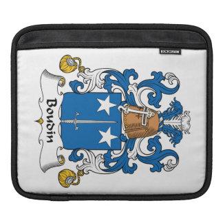 Escudo de la familia de Boudin Fundas Para iPads