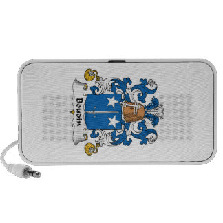 Escudo de la familia de Boudin Laptop Altavoces