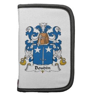 Escudo de la familia de Boudin Organizador