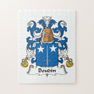 Escudo de la familia de Boudin Puzzle Con Fotos