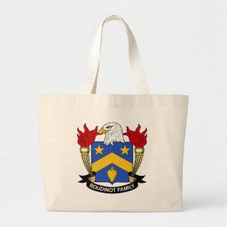 Escudo de la familia de Boudinot Bolsas