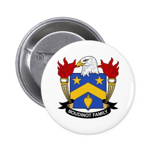 Escudo de la familia de Boudinot Pin