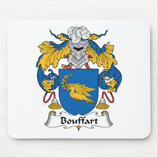 Escudo de la familia de Bouffart Alfombrilla De Raton