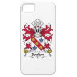 Escudo de la familia de Boulton iPhone 5 Case-Mate Protector