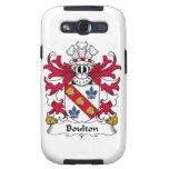 Escudo de la familia de Boulton Galaxy S3 Protector