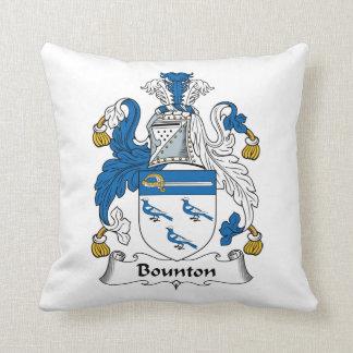 Escudo de la familia de Bounton Cojin