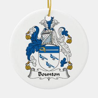 Escudo de la familia de Bounton Adorno Para Reyes