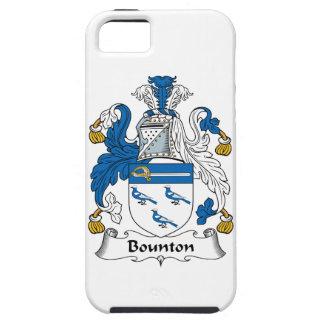 Escudo de la familia de Bounton iPhone 5 Funda