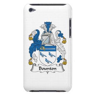 Escudo de la familia de Bounton Case-Mate iPod Touch Protector
