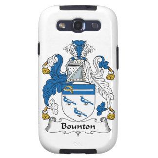 Escudo de la familia de Bounton Galaxy SIII Cárcasas