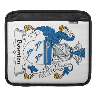 Escudo de la familia de Bounton Mangas De iPad