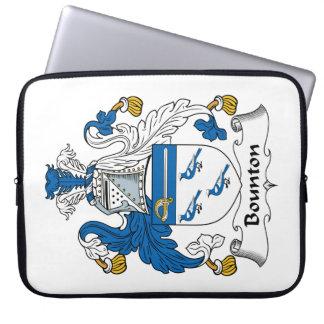 Escudo de la familia de Bounton Funda Ordendadores