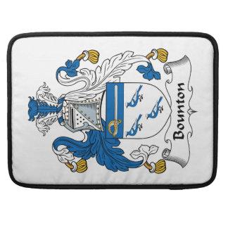 Escudo de la familia de Bounton Funda Para Macbook Pro