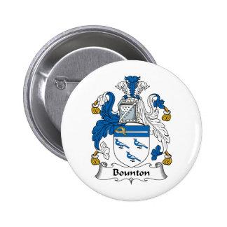 Escudo de la familia de Bounton Pin
