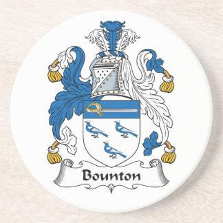 Escudo de la familia de Bounton Posavasos Manualidades