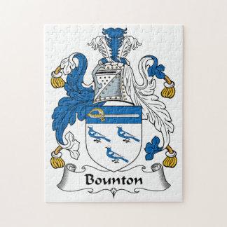 Escudo de la familia de Bounton Puzzles
