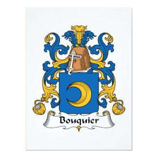 Escudo de la familia de Bouquier Anuncio Personalizado