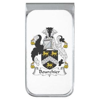 Escudo de la familia de Bourchier Clip Para Billetes Plateado