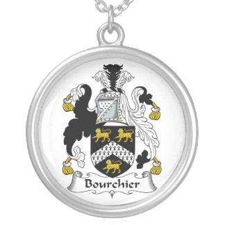 Escudo de la familia de Bourchier Colgante Redondo