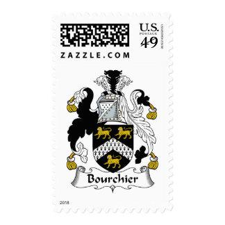 Escudo de la familia de Bourchier Sello
