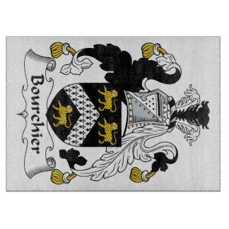 Escudo de la familia de Bourchier Tablas Para Cortar