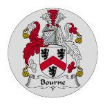 Escudo de la familia de Bourne Fichas De Póquer