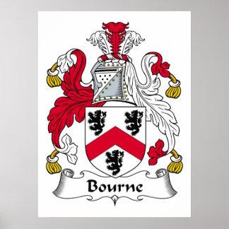 Escudo de la familia de Bourne Poster