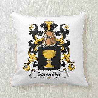 Escudo de la familia de Bouteiller Cojin