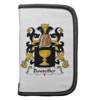 Escudo de la familia de Bouteiller Organizador