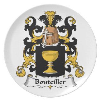 Escudo de la familia de Bouteiller Platos