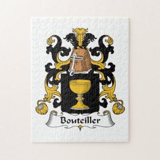 Escudo de la familia de Bouteiller Puzzle Con Fotos