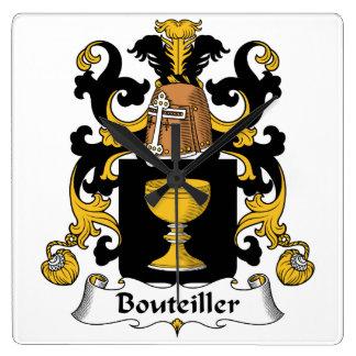 Escudo de la familia de Bouteiller Relojes