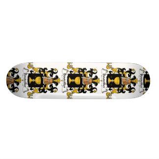 Escudo de la familia de Bouteiller Tabla De Skate