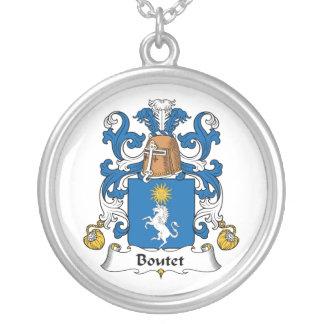 Escudo de la familia de Boutet Colgante