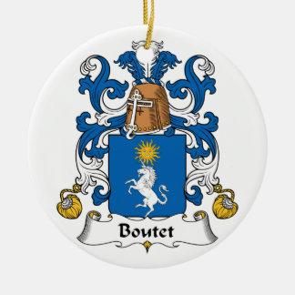 Escudo de la familia de Boutet Ornatos
