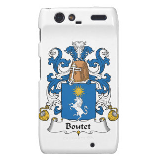 Escudo de la familia de Boutet Droid RAZR Funda