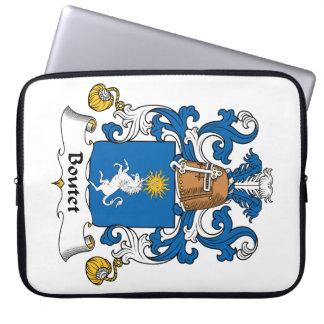 Escudo de la familia de Boutet Funda Portátil