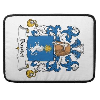 Escudo de la familia de Boutet Funda Para Macbook Pro